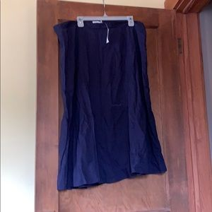 Old Navy Skirts - New with tags navy midi skirt.